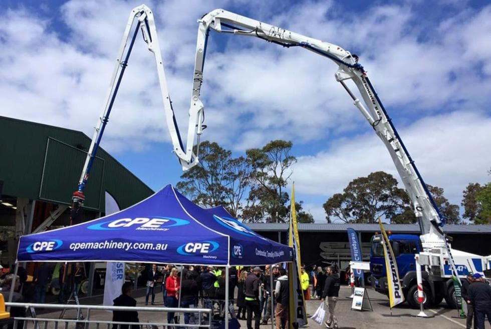Australian Putzmeister dealer CPE Machinery celebrated Oktoberfest in Melbourne
