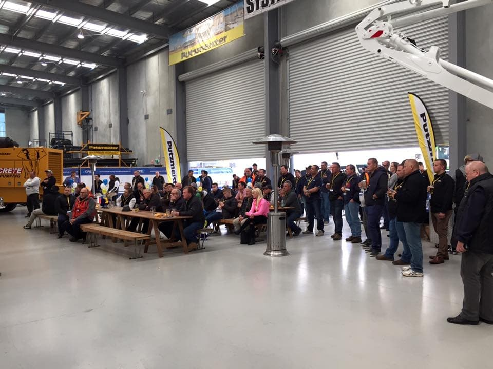 Australian Putzmeister dealer CPE Machinery celebrated Oktoberfest in Melbourne (1)